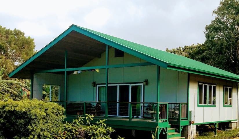 Lovely Ocean View Cottage  on Lush 10 acre estate
