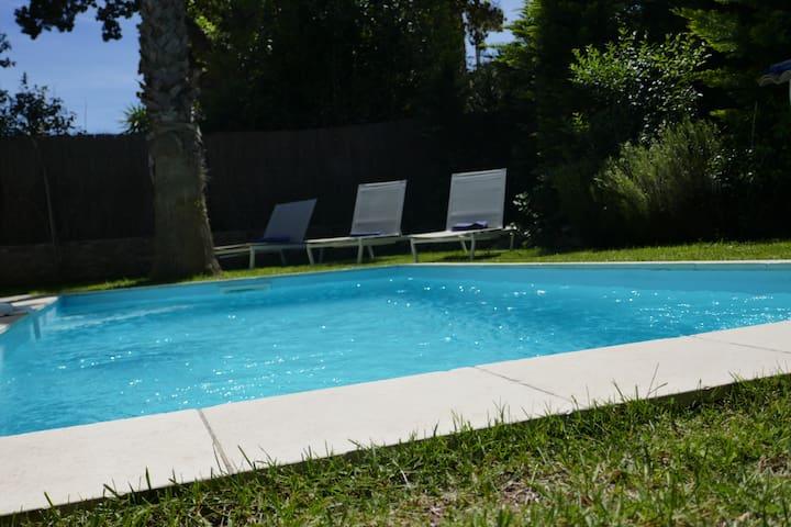 Villa avec piscine centre de Saint tropez