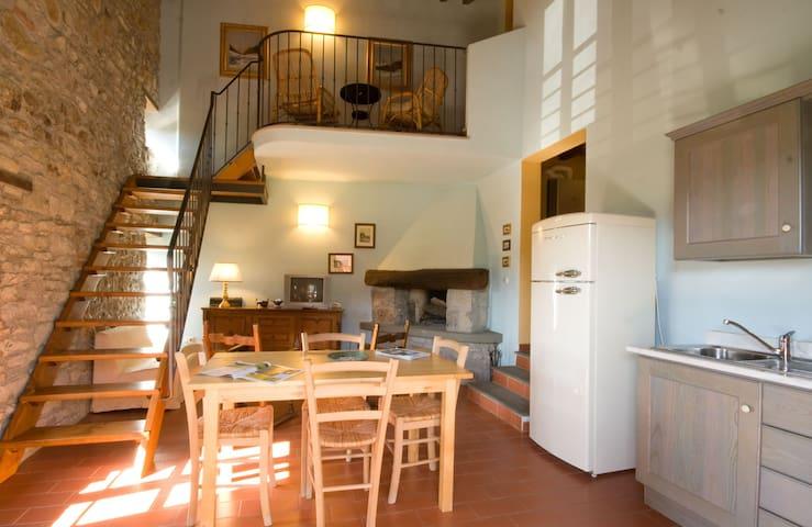 Appartamento Due camere con piscina - Firenzuola - Daire