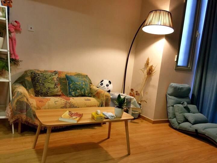 【秋日童话】门头沟区医院附近复式大床房,住进童话的世界,感受儿时的美好