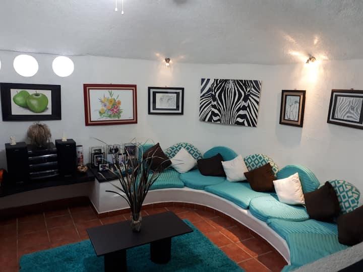 un espacio confortable y  diseño orgánico único