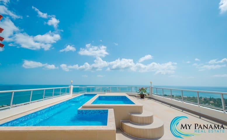 Condo 14 Floor in coronado golf - Nueva Gorgona - Appartement