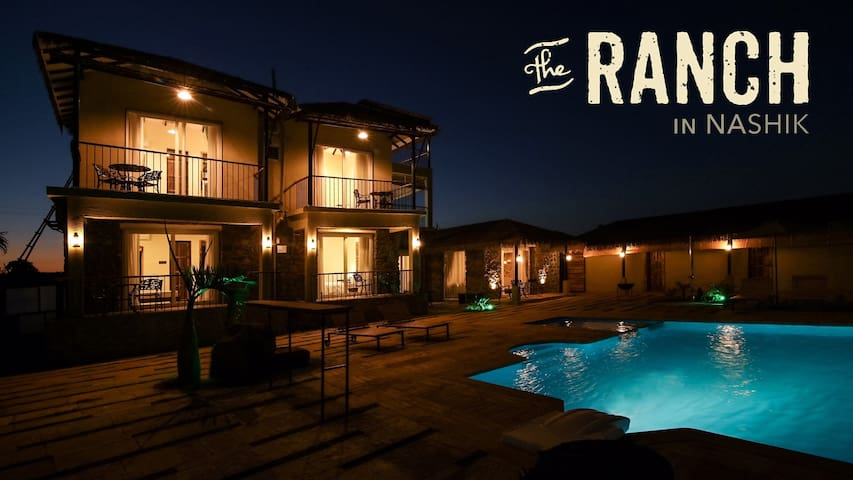 The Ranch, Nashik – 5 Bed Private Pool Villa - Beze - 別荘