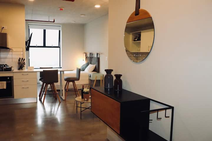 Mint Studio Apartment with great City view (NEW)