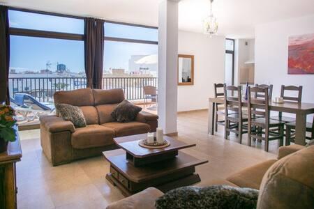 The Penthouse, El Charco - 阿雷西费(Arrecife) - 公寓