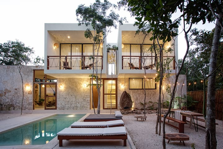 Custom Villa 3BR - Prvt Pool and Outdoor Dining - Tulum - Villa