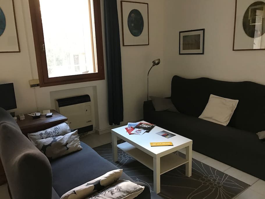 Living Room in Ca' Garzoni