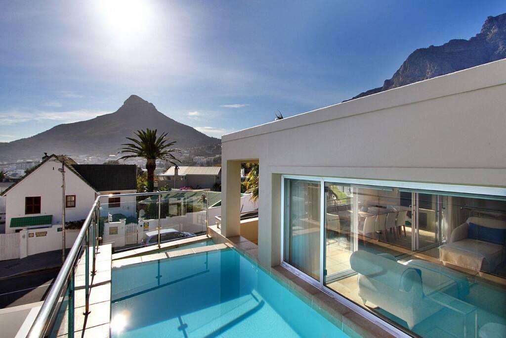 Infinity Pool, Sea and Mountain Views
