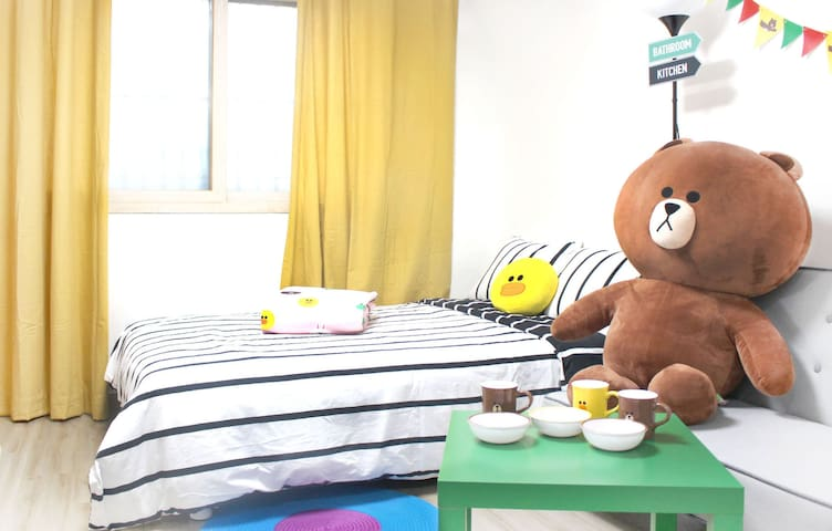 #3Stay with Brown! Dongdaemun-gu 东大门 - Dongdaemun-gu - Apartament
