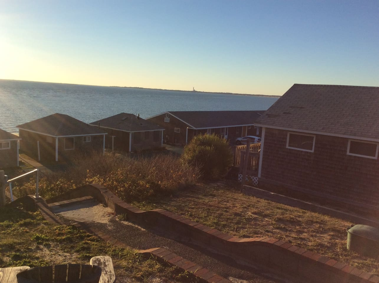Waking up to the lovely morning sun on the deck of this 2 bedroom condo in North Truro