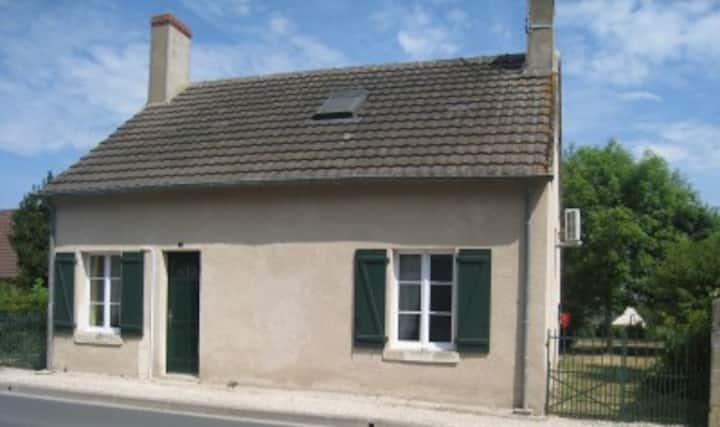 maison dans parc régional de la Brenne
