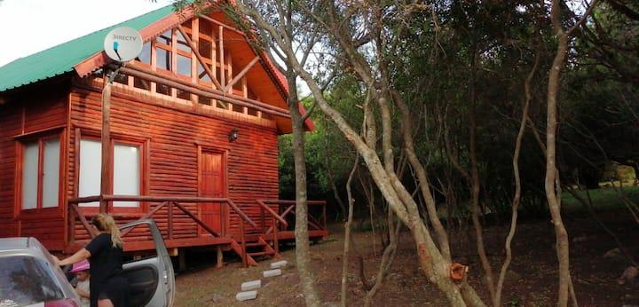 Hermosa y nueva cabaña en un lugar magico