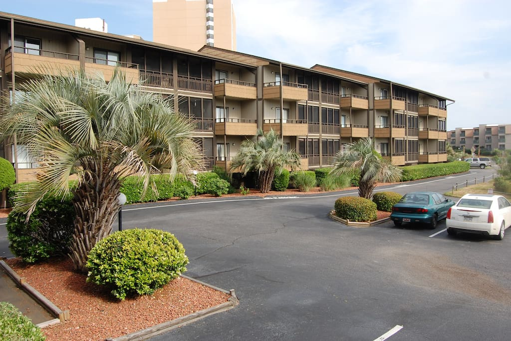 2 Bedroom Marsh View Mariners Cove Condominiums For Rent In Myrtle Beach South Carolina
