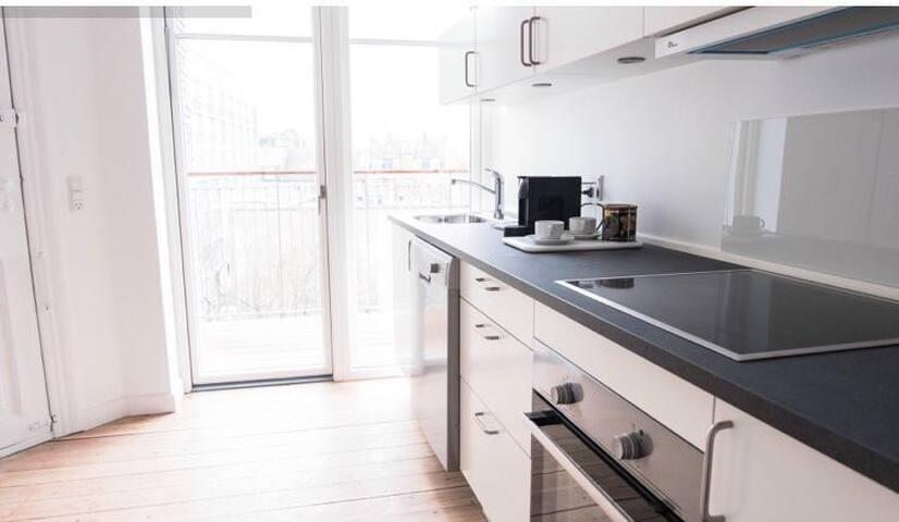 Room in Modern Apartment in Nørrebro