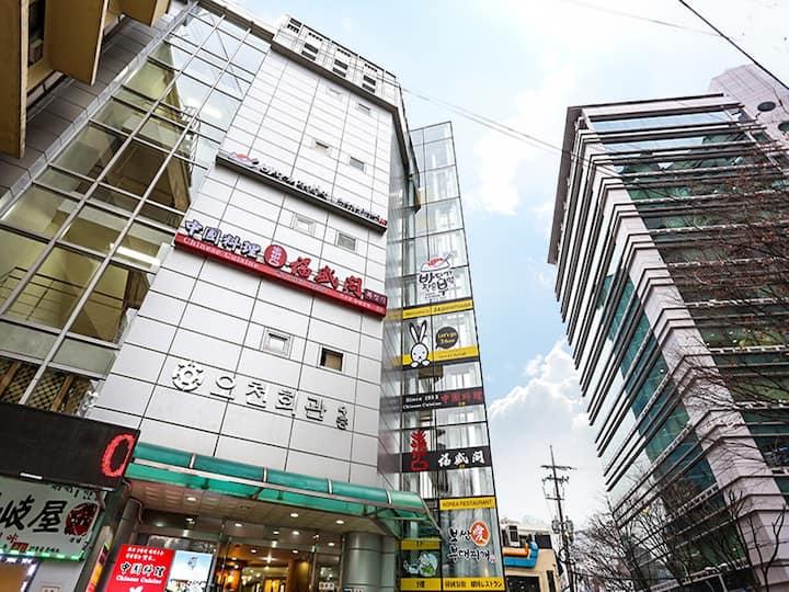 'Seoul cityhall' Economy Bunk Twin room [2PAX]