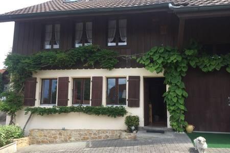 Grande et chaleureuse maison de campagne