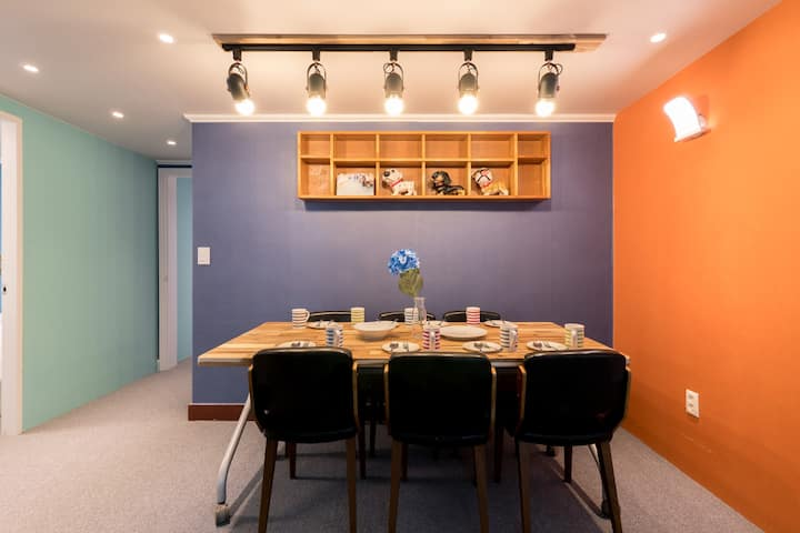 Disinfection/Big family suite in Myeong-Dong