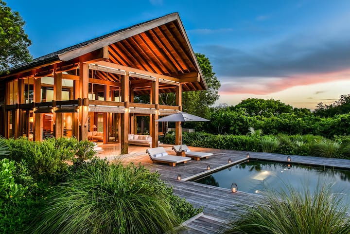 Point House at COMO Parrot Cay