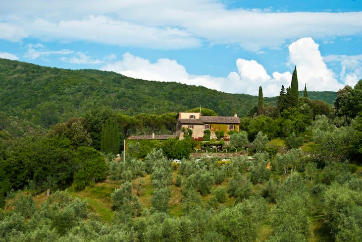 Le Valle Villa & Guesthouse -  Sleeps 10/4.5 baths - Strada in Chianti - Casa de campo