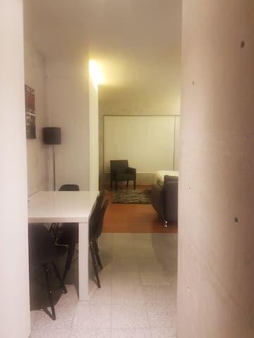 Fully equipped studio in Condesa.
