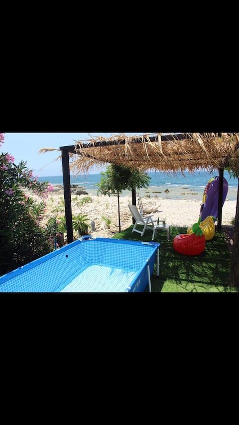Sea chalet - Beach front