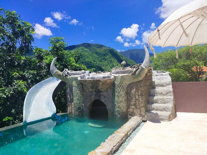 Dragon's Nest with Waterslide and Panoramic View