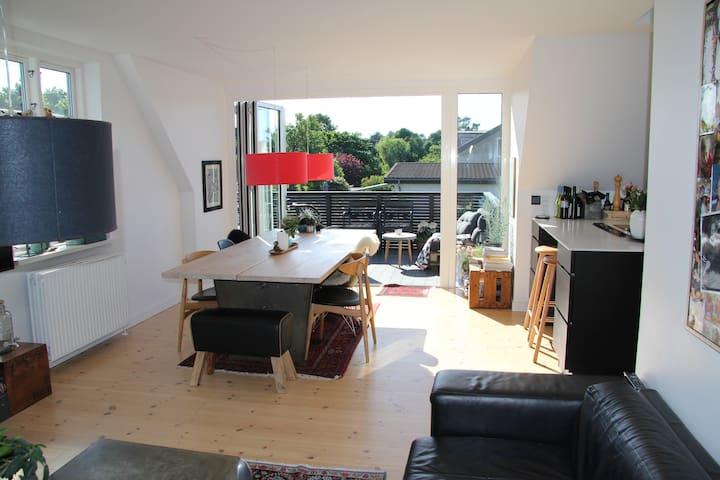Villa appartement, close to beach - Risskov - Huoneisto