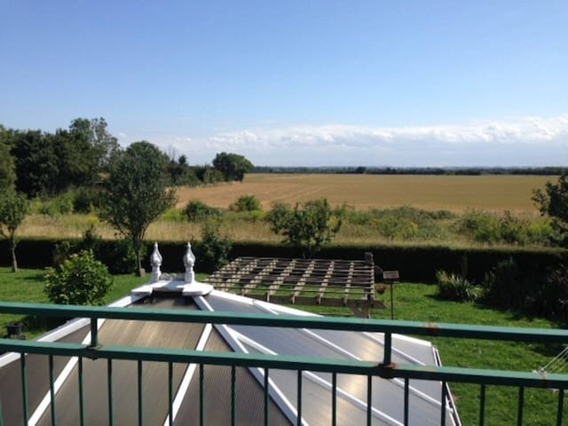 Beautiful Country Home - twin room en-suite. - Fen Ditton - Dom