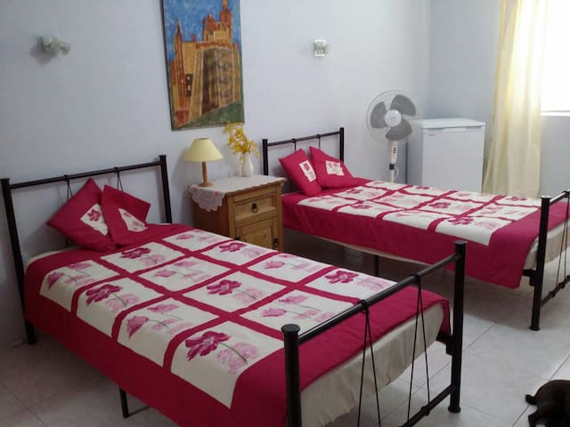 Large private room/ near Paceville - Swieqi - Huis