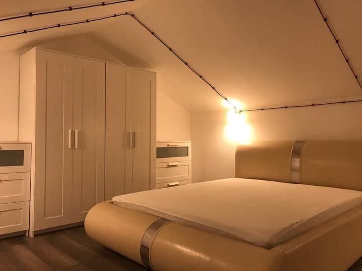Luxury two-level bedroom
