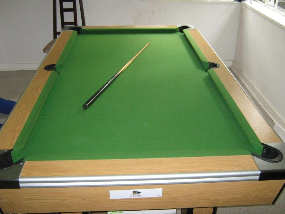 Full Sized Indoor pool table