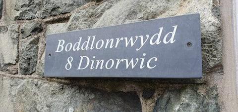 Domek położony w pięknym krajobrazie Snowdon