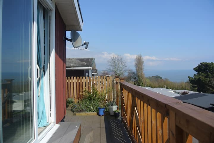 Sea view chalet, Shaldon, Devon