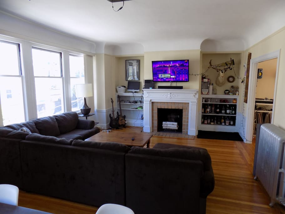 View of Living Room / TV