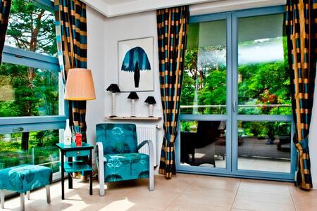 Apartament przy plaży/By the beach - Woda 5 - Jastarnia - Leilighet