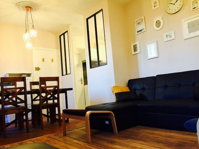 Magnifique appartement 2 pièces au coeur d'Orléans