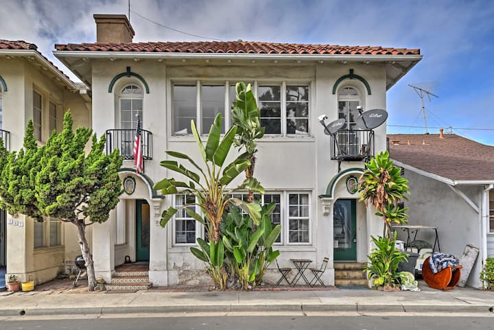 Sunny Catalina Island Home - Steps to Avalon Bay!