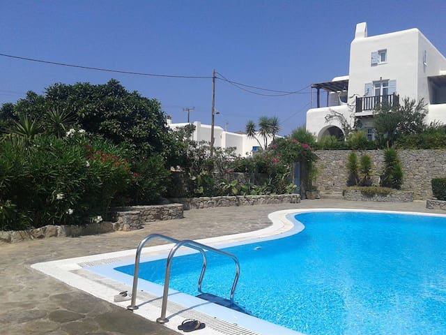 SEA VIEW MYKONOS HOUSE For memorable  holidays !!