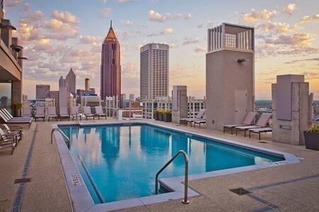 Spectacular Views Midtown, Walkable to Everything - 亞特蘭大 - 公寓