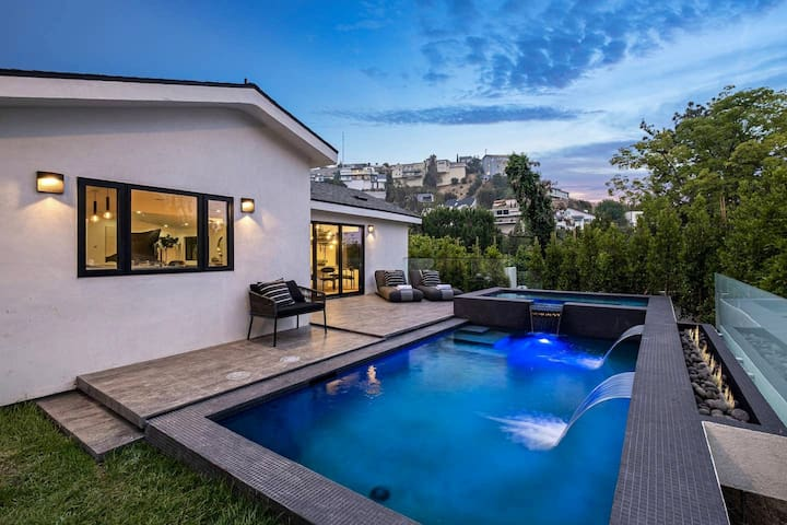 New Luxury Rockstar Home West Hollywood Hills