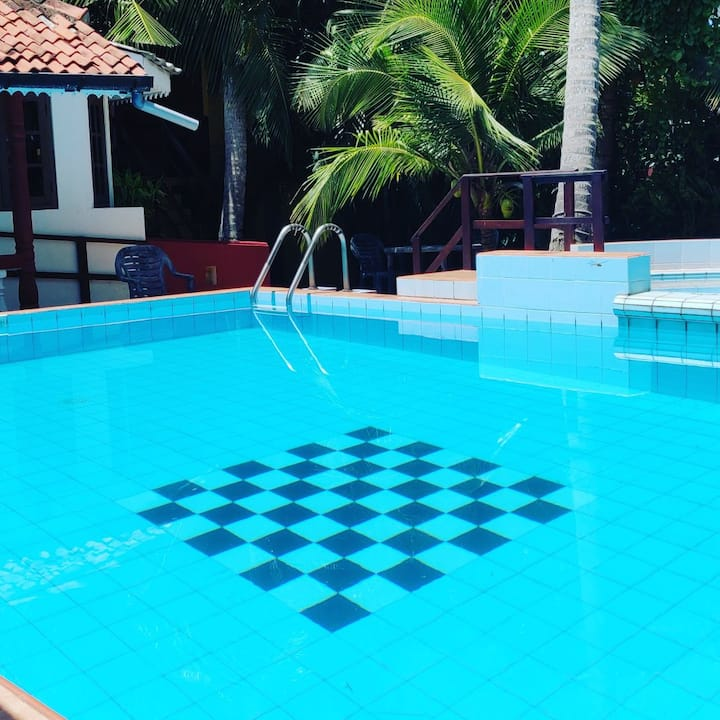 Priyashanthi Guest House with a Swimming Pool