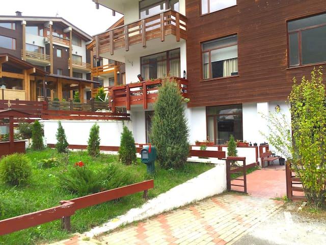 Уютные апартаменты (64м) в центре Красной поляны - Сочи - Apartament