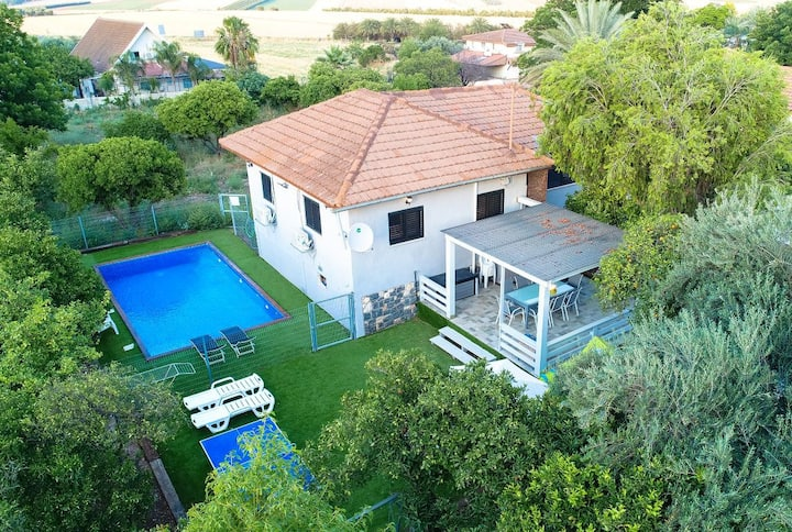 Galil Getaway, Family vacation villa