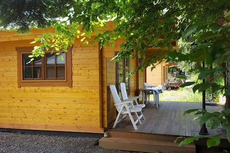 Comfortable and cheap chalets on campingplace - Eisenberg (Pfalz) - Chalet