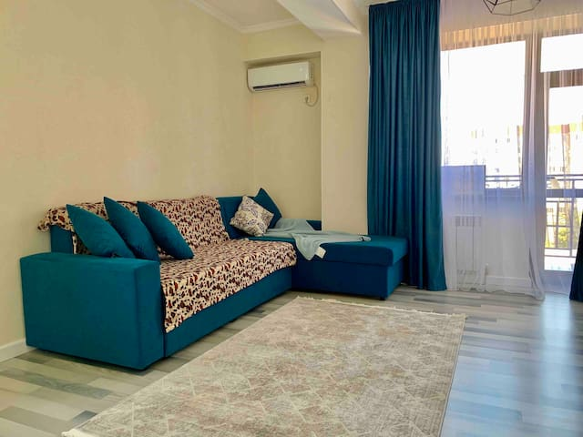 Cozy apartment right in the heart of Bishkek.
