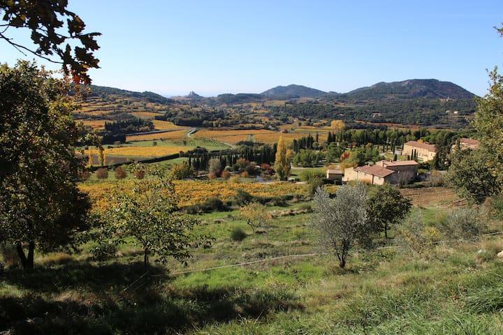 Gite paysan - Le Barroux - Hus