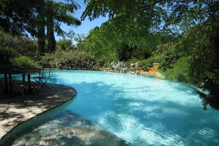 Sunny bastide with infinite pool & secluded garden - Aix-en-Provence