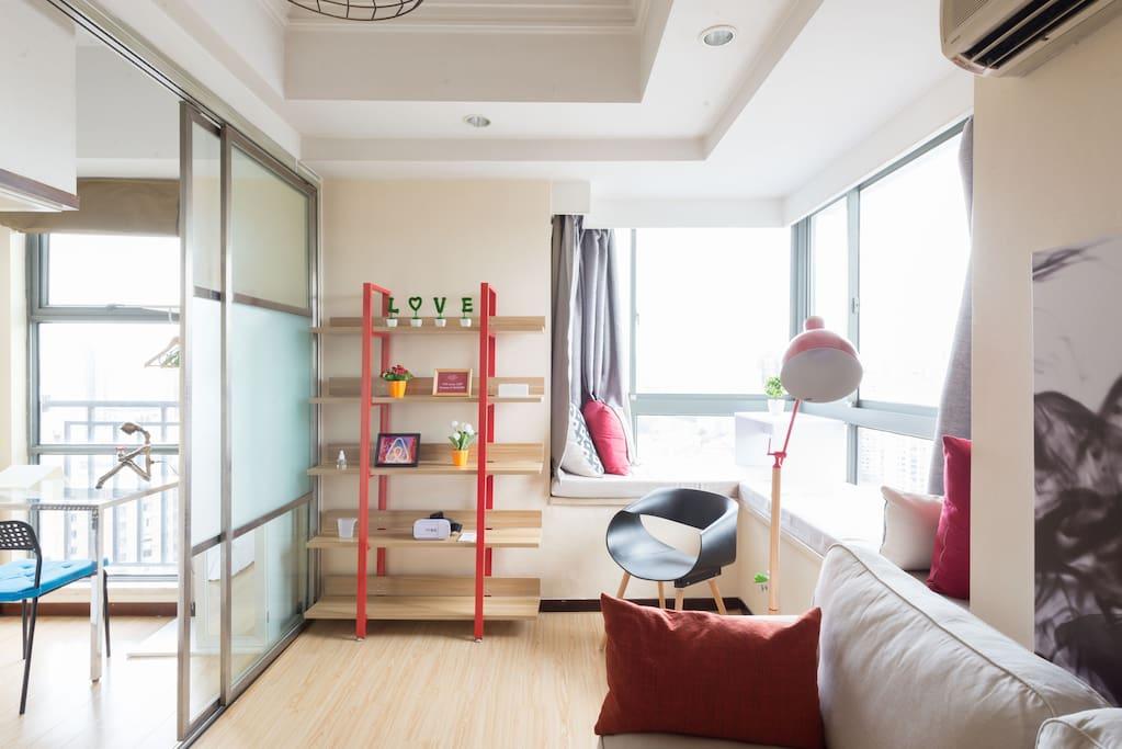 房间的照片都是Airbnb官方摄影师入室拍摄的哦