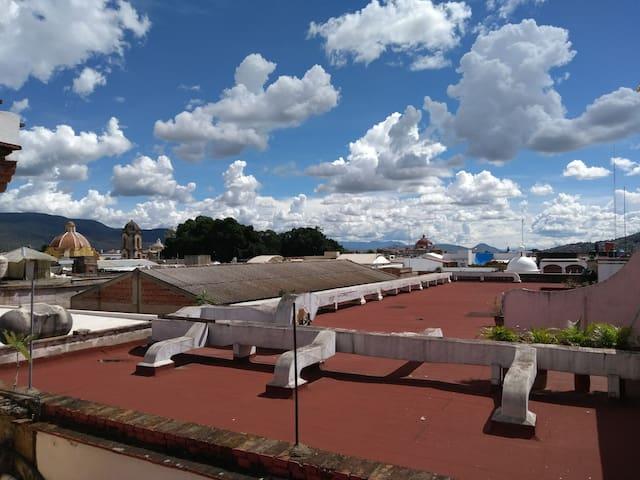 The best location in Oaxaca's downtown