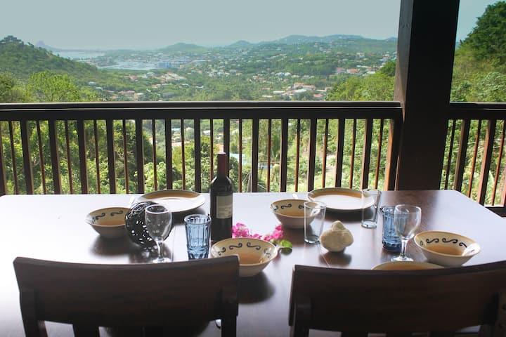 Island-Ocean View Home